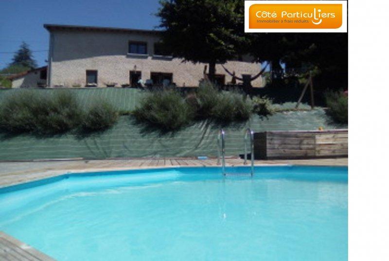 Vente sur 1510m2 maison renovee 3ch piscine for Piscine vente